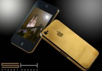 iPhone 4 24ct Solid Gold Version