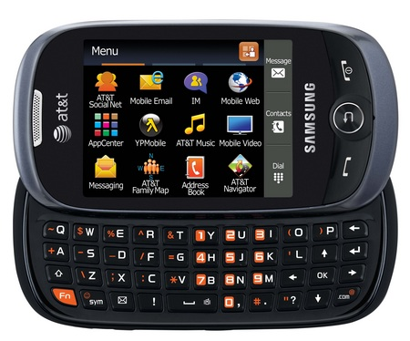AT&T Samsung Flight II SGH-A927 QWERTY Messaging phone keyboard