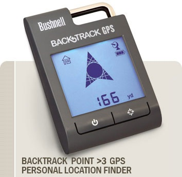 Bushnell BackTrack Point 3 GPS Device