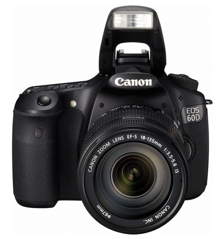 Canon EOS 60D Digital SLR Camera flash open