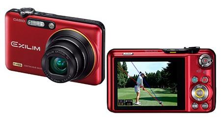 Casio EXILIM EX-FC160S Digital Camera for Golfers