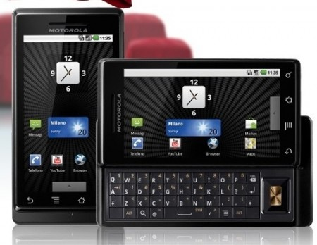 Cellular South gets Motorola Milestone Android Smartphone