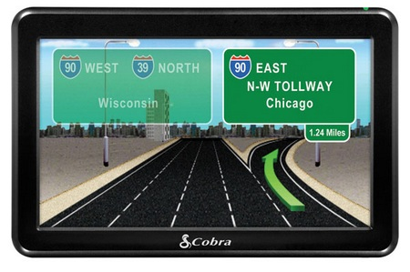 Cobra 7750 Platinum GPS Navigation Device