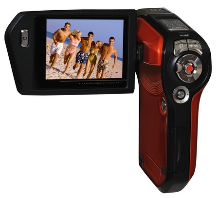 DXG QuickShots DXG-5B6V 720p HD Camcorder back