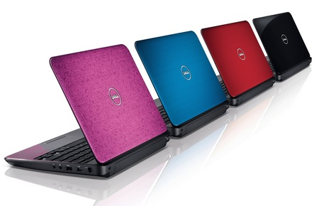 Dell Inspiron M101z Slim Notebook colors