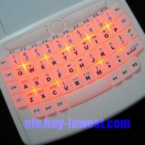 EFO iPazzport Wireless Media Keyboard backlight