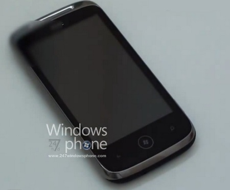 HTC Schubert Windows Phone 7 Smartphnoe in Video