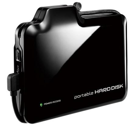 IO-DATA HDPN-U500V USB Hard Drive