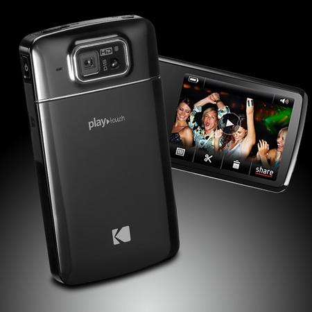 Kodak PLAYTOUCH Pocket Video Camcorder Smoke Gaze Black