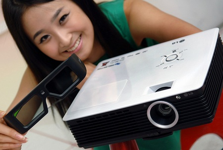 LG BX327 and BX277 Business 3D Projector