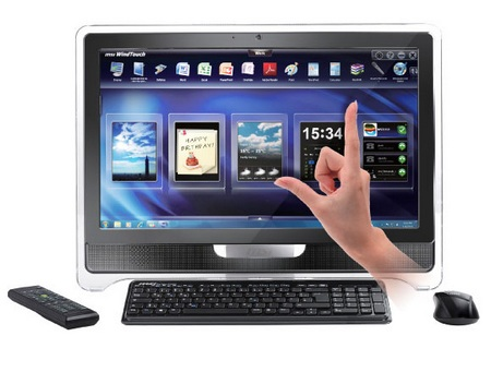MSI Wind Top AE2280 All-in-one PC with THX TruStudio Pro Audio fingertouch