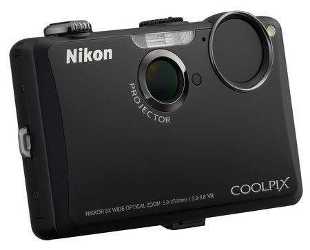 Nikon CoolPix S1100pj Projector Camera black