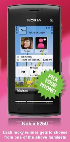 Nokia 5250 Smartphone Leaked