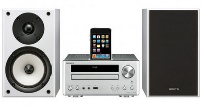 Onkyo CS-V645 Mini DVD Receiver System with iPod Dock
