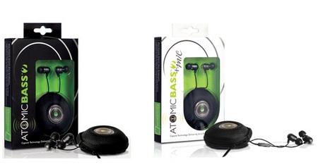 Radius Atomic Bass 2 and Atomic Bass 2 Mic Headphones