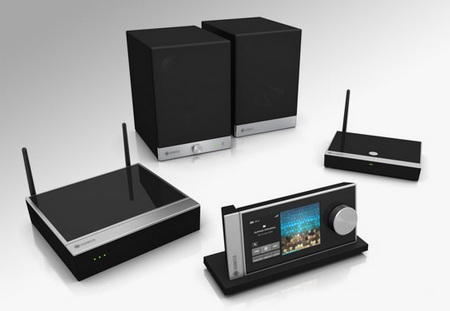 Raumfeld 2Raumfeld Multi-room Audio System for Two Rooms