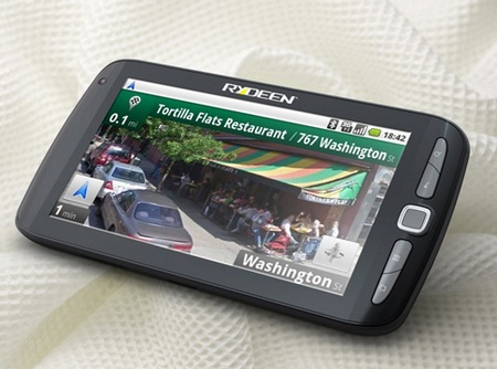 Rydeen Mobile gpad GCOM701 Android Slate black