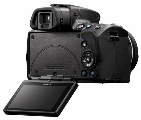 Sony Alpha A55 DSLR Swivel LCD display