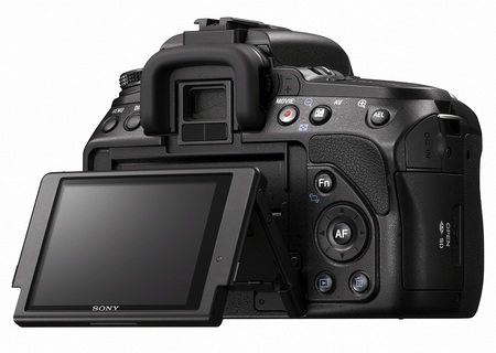 Sony Alpha A560 A580 DSLR lcd screen