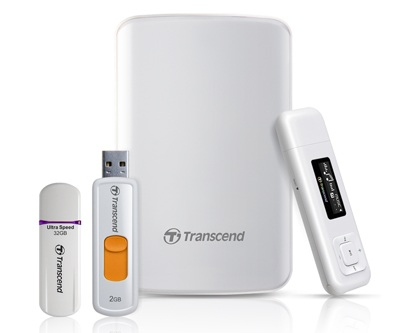Transcend Classy White Collection