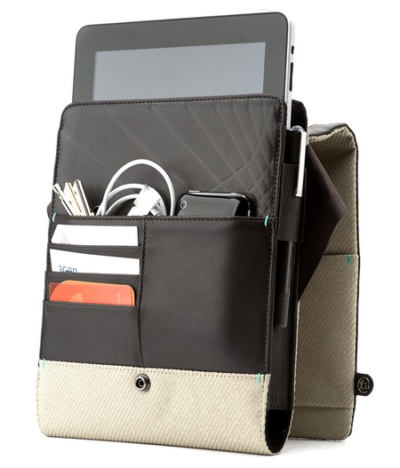 booq Boa Push iPad Bag packs all your necessities open