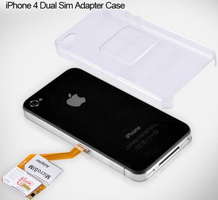 iPhone 4 Dual SIM Case 1
