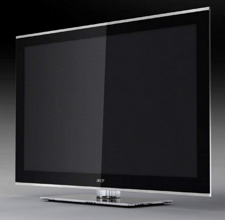 Acer AT4285 Ultra Slim LED HDTV with Gorilla Glass