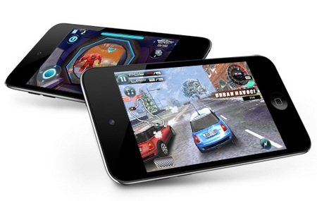 Apple iPod touch 4G gaming