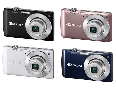 Casio EXILIM Card EX-S200 Digital Camera with Single Frame SR Zoom colors