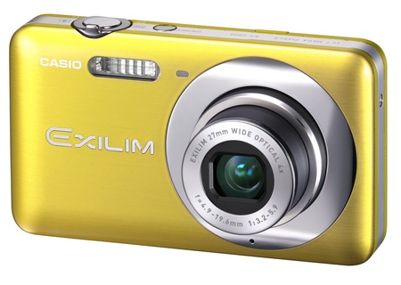 Casio EXILIM ZOOM EX-Z800 Zoom Camera yellow