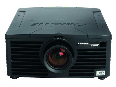 Christie DHD670-E and DWU670-E Digital Projectors