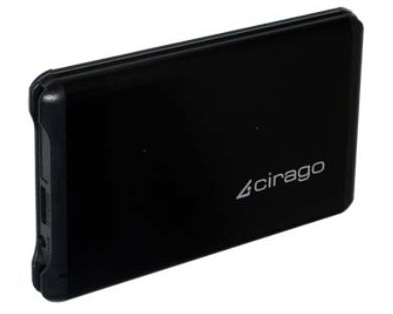 Cirago CST6000 Series USB 3.0 Portable Hard Drive