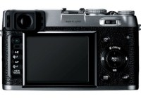 FujiFilm FinePix X100 Camera with Hybrid Viewfinder back