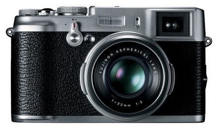 FujiFilm FinePix X100 Camera with Hybrid Viewfinder
