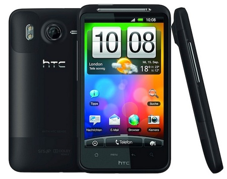 HTC Desire HD 4.3-inch Android Phone 1