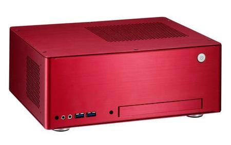 Lian Li Mini-Q PC-Q09 and PC-Q09F Mini-ITX Chassis red