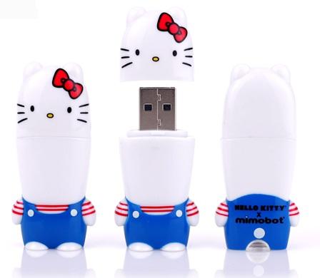 Mimoco MIMOBOT Hello Kitty USB Flash Drives