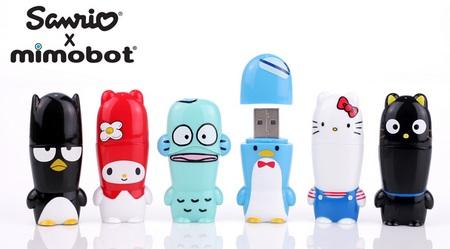Mimoco MIMOBOT Sanrio 50th Anniversary Collection USB Flash Drives