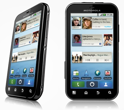 Motorola Defy Rugged Android Smartphone front