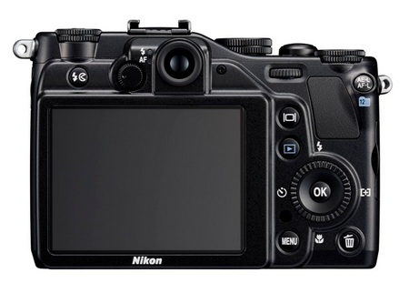 Nikon CoolPix P7000 Prosumer Digital Camera back