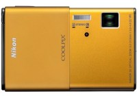 Nikon CoolPix S80 Camera with OLED Touchscreen gold