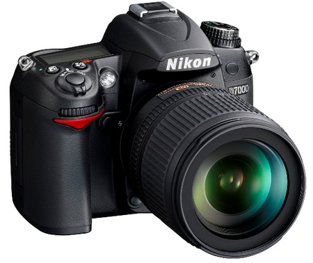 Nikon D7000 DSLR Camera 1080p Full HD Video angle