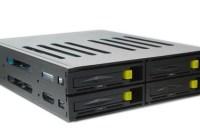 Patriot Memory Convoy 425S and Convoy 425XL 4-Bay 5.25-inch Internal Enclosure