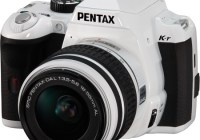 Pentax K-r DSLR Camera white
