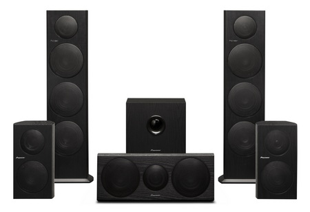 Pionner SP-BS21-LR, SP-BS41-LR, SP-FS51-LR, SP-C21, SW-8 Home Theater and Music Speakers