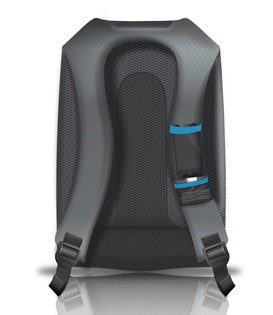 Quirky Trek Support Backpack back