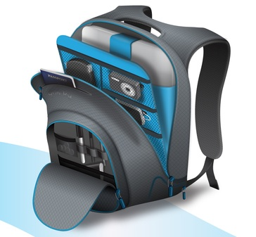 Quirky Trek Support Backpack