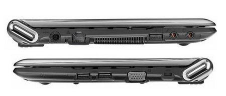 Samsung N350 LTE-HSPA+ Dual-mode Netbook side
