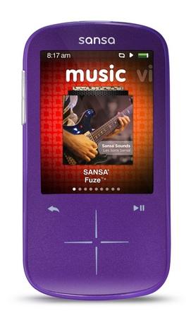 SanDisk Sansa Fuze+ Portable Media Player