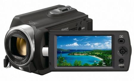 Sony Handycam DCR-SR15E Standard Definition Camcorder screen